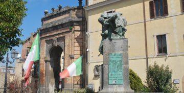 piazza Regina Elena a Campagnano di Roma
