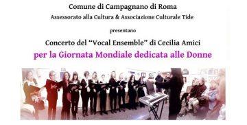 concerto per la giornata mondiale delle donne