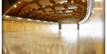 sala interna del Centro Congressi di Vallelunga