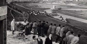 pubblico sul circuito di Vallelunga