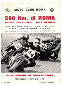 500 km di Vallelunga del 1974