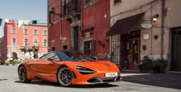 McLaren 720s a Campagnano di Roma