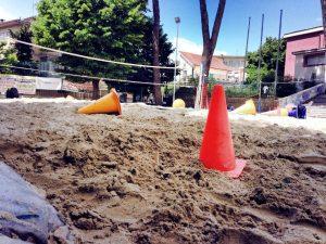 Beach volley con ASD Nuova Pallavolo Campagnano
