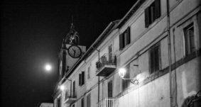 Campagnano: il centro storico di notte