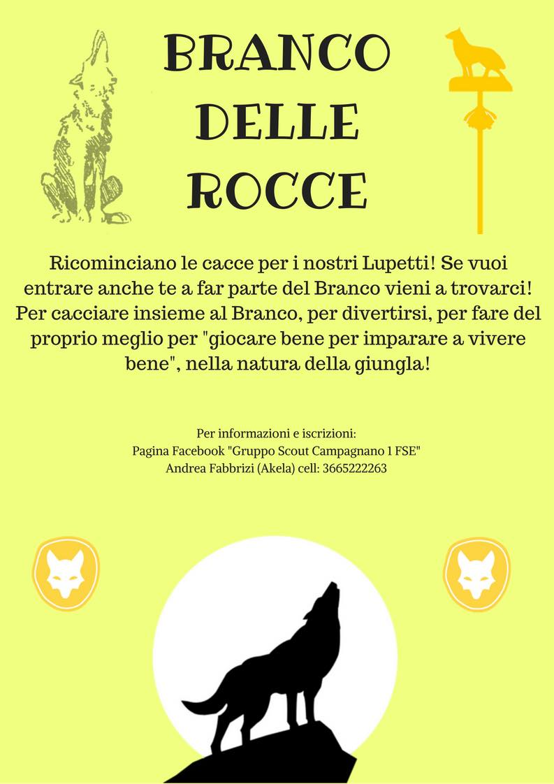 Iscrizione lupetti Gruppo Scout Campagnano di Roma