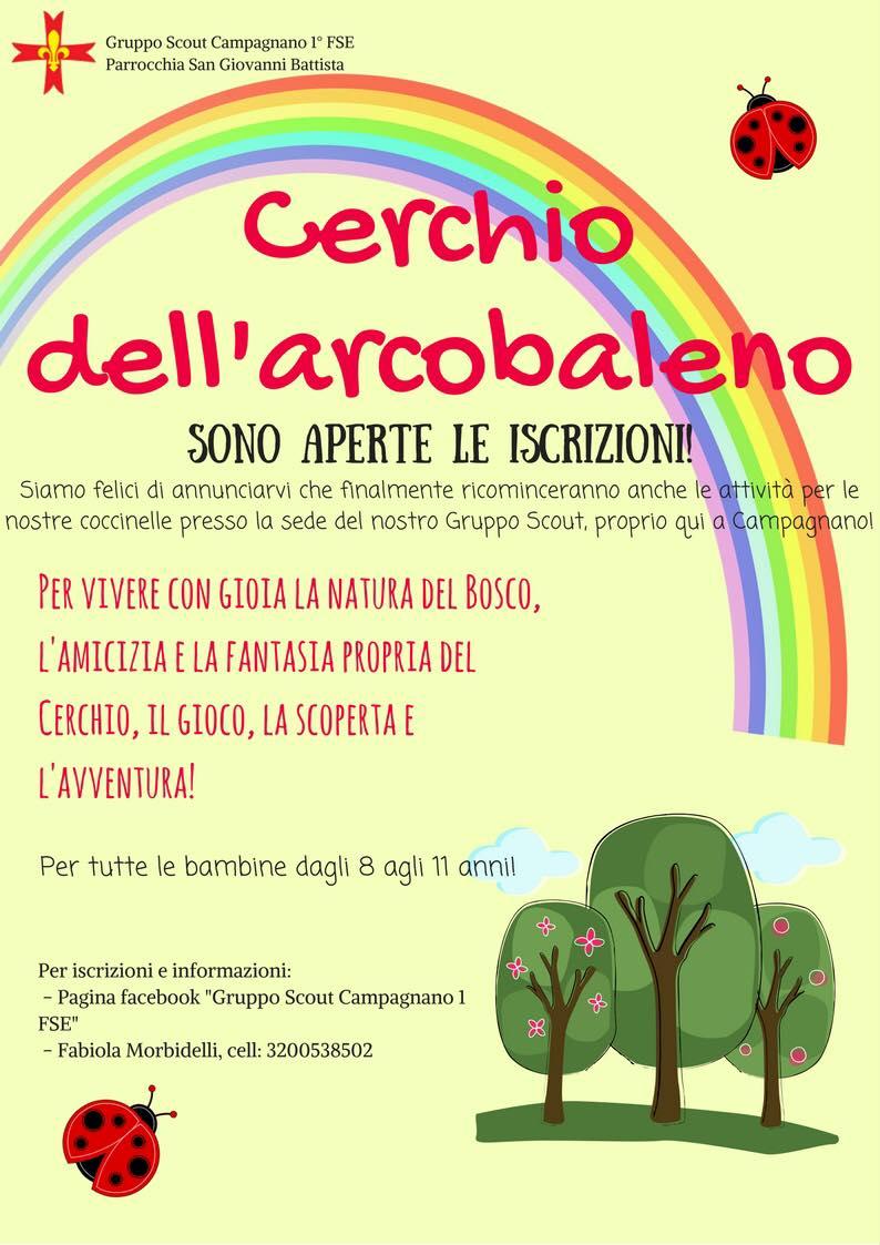 Iscrizione coccinelle Gruppo Scout Campagnano di Roma