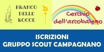 Iscrizioni Gruppo Scout Campagnano di Roma