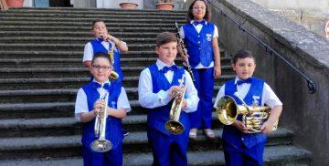 I bimbi della Banda Musicale Iris