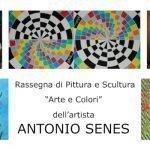 22-24 settembre - Mostra di pittura e scultura di Antonio Senes