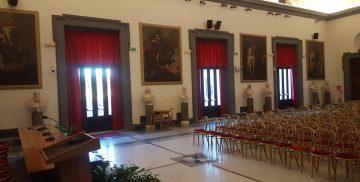 Sostituzione infissi presso la a sala della Protomoteca in Campidoglio