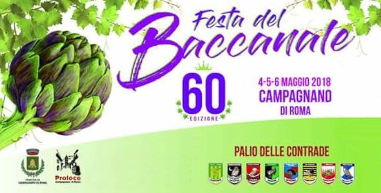 Festa del Baccanale 2018 a Campagnano di Roma