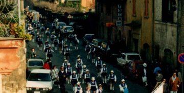 La Banda Iris alla Festa del Baccanale a Campagnano di Roma