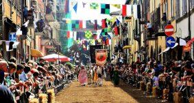 Le foto storiche della Festa del Baccanale