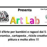 9 maggio - 27 giugno - Laboratori d'Arte per bambini e ragazzi dai 5 ai 14 anni