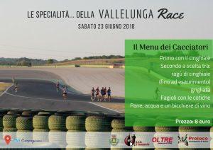 Cena dei cacciatori alla Campagnano Vallelunga Race 2018