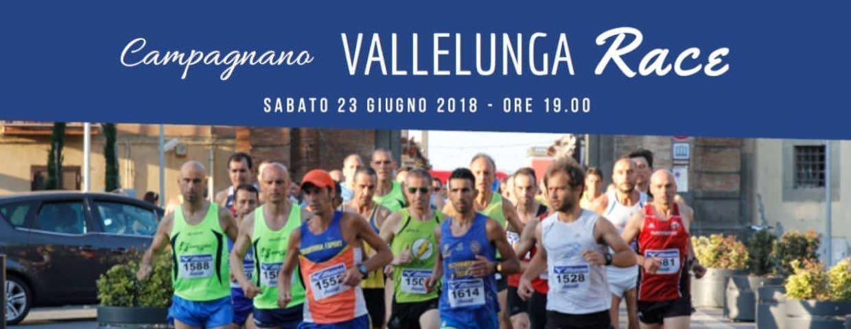 Banner della Corsa podistica Vallelunga Race 2018 a Campagnano