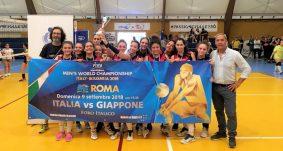Pallavolo: vittoria della squadra femminile nel Torneo Under 14 Promozione Roma e Provincia
