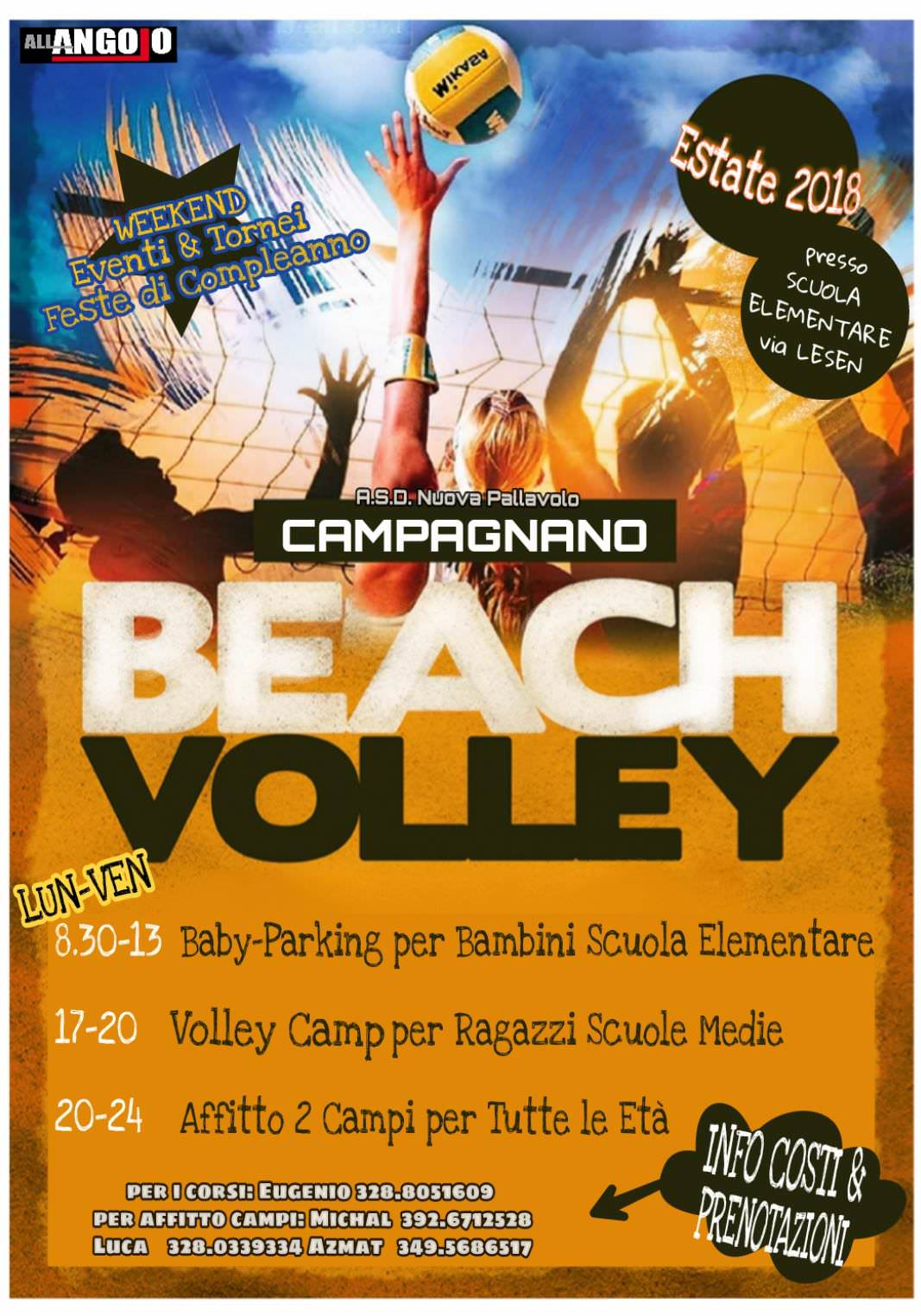 Beach Volley a Campagnano