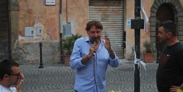 Aldo Monteleona, speaker della Campagnano Vallelunga Race 2018