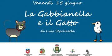 """spettacolo teatrale """"La gabbianella e il gatto"""" a Campagnano di Roma"""