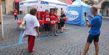 Lo stand AVIS alla Campagnano Vallelunga Race 2018