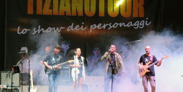 Lo spettacolo di Tiziano Tour alla Festa dei SS. Patroni di Campagnano