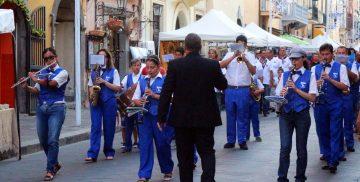 La Banda Musicale Iris alla Festa dei Patroni 2018 a Campagnano di Roma