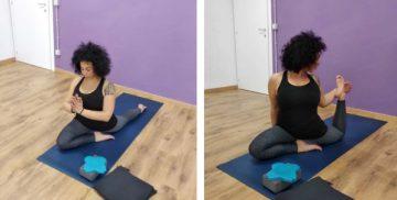 Lezioni di Yoga alla Scuola di danza Dancing Time a Campagnano di Roma