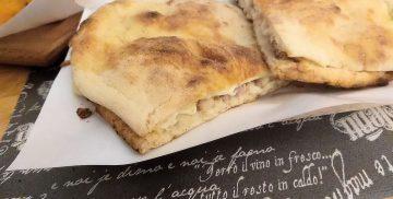 Pizzeria salernitana a Campagnano di Roma - Il panuozzo