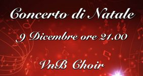 9 dicembre 2018 – Concerto di Natale