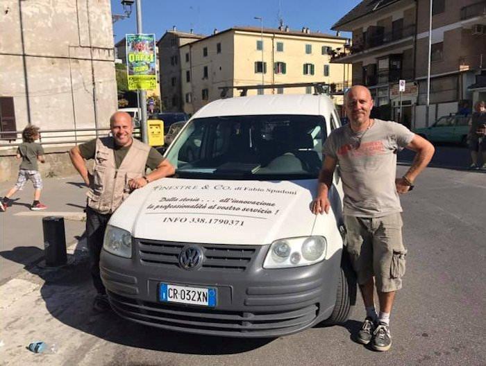 Fabio e Diego Spadoni di Finestre &Co