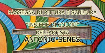 Mostra di pittura e scultura di Antonio Senes a Campagnano di Roma