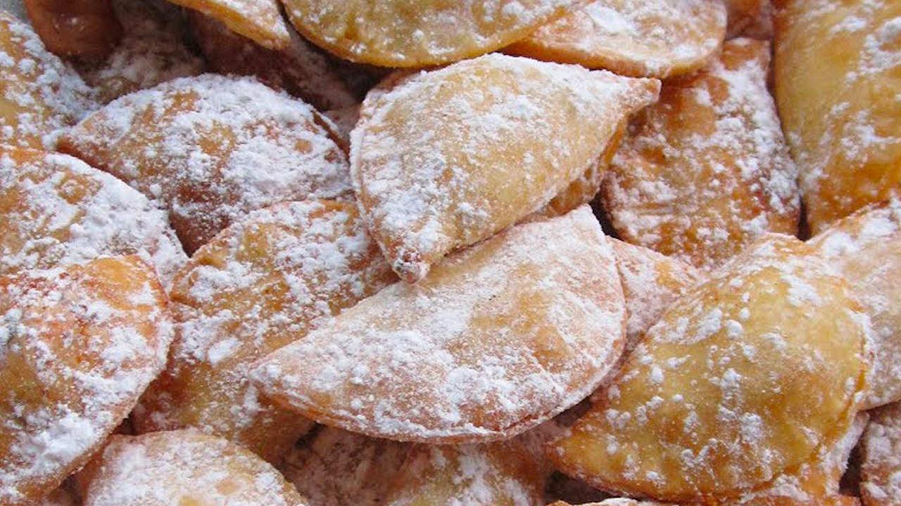 I gravioli dolci di carnevale