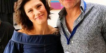 Antonio Silvestri con Elisa