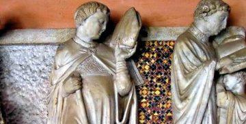 Tomba di Arnolfo di Cambio a Campagnano di Roma