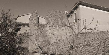 Resti della Torre di Sant'Andrea a Campagnano di Roma