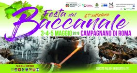 3 – 5 maggio 2019 – Festa del Baccanale a Campagnano