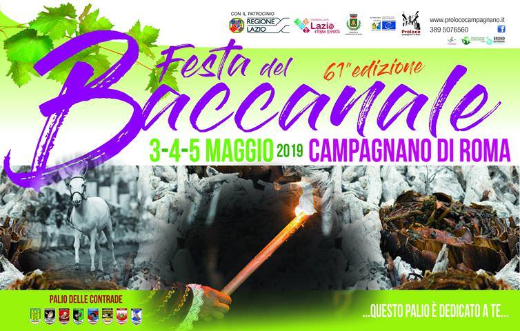 Festa del Baccanale 2019 a Campagnano di Roma