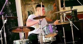 Leonardo Gentili, batterista degli After Dawn