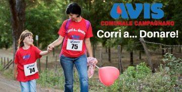 """AVIS """"Corri a Donare"""" a Campagnano"""