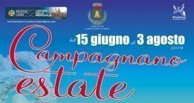 15 giugno – 3 agosto 2019 – Campagnano Estate