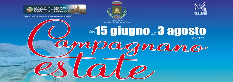 Campagnano Estate 2019 a Campagnano di Roma