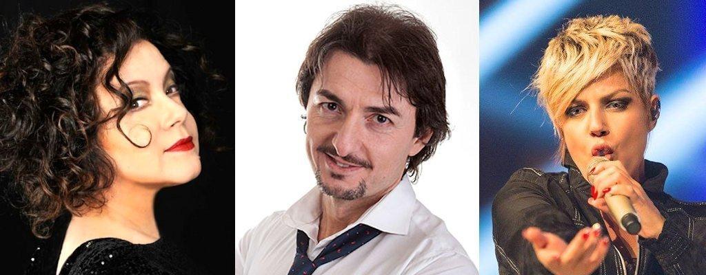 Antonella Ruggiero, Marco Capretti e Manuela Villa ospiti della Festa dei SS.Patroni di Campagnano di Roma 2019