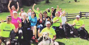Il gruppo dell'Associazione Disabilincorsa