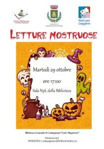 Letture per bambini alla Biblioteca Comunale di Cmapagnano