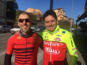 Emiliano Cantagallo e Giancarlo Fisichella