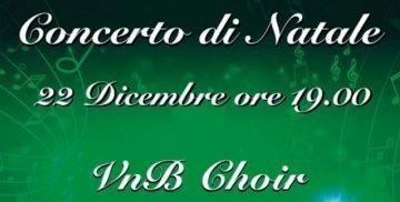 concerto di Natale del VnB Choir di Campagnano di Roma