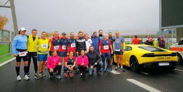 Prima Maratona nell'autodromo di Vallelunga