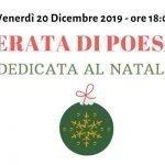 20 Dicembre - Serata di Poesia dedicata al Natale