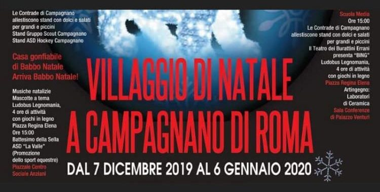 Villaggio di Natale 2019 a Campagnano